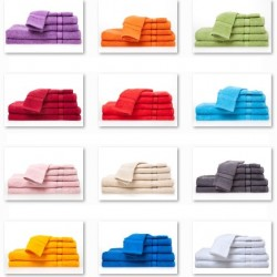 Frotteewäsche aus 100% Baumwolle 6-teilig in vielen tollen Farben nur 29.90 statt 49.50