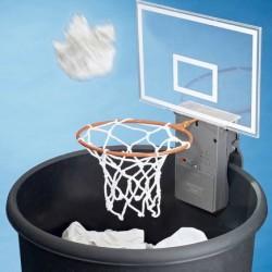 Basketballkorb Papierkorb Spass Büro Sound Effekte Geschenk