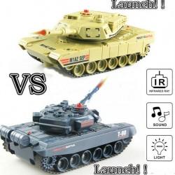 RC ferngesteuerter Panzer mit integriertem Infrarot Battlesystem Gefechtmodi Sch
