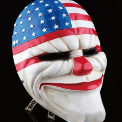 Payday 2 - The Heist Dallas US Flaggen Clown Maske Hingucker Selten Clownmaske
