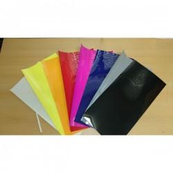 Flockfolien-Set 10 Farben-25cmx50cm