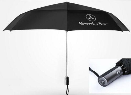 mercedesbenz benz fan regenschirm geschenk automatisch