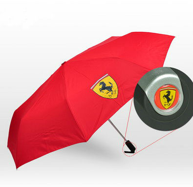 scuderia ferrari fan auto regenschirm automatik. Black Bedroom Furniture Sets. Home Design Ideas