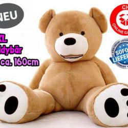 Kein 0815 Geschenk von der Stange! Riesen Plüsch Teddy 160cm!