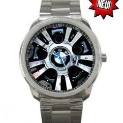 Edle BMW Auto Sport Edelstahl Armbanduhr Uhr