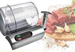 Der 9 Minute Marinator (Optimal zum marinieren von Schaschlik Fleisch) basiert auf einem System, das Profi-Köche und Restaurants seit Jahren verwenden, um Fleisch schön zart zu machen.