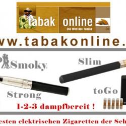 noSmoky – elektrische Zigarette