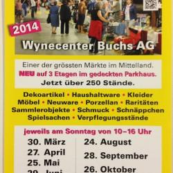 Flohmarkt Wynecenter Buchs