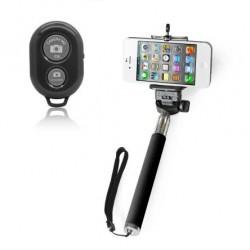 iProtect 2in1 Set Selfie Stange Handstativ Selbstauslöser iPhone Android