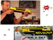 Bug-A-Salt Die Fliegen Salz Schrotflinte Fliegen Killer Flinte Neuheit USA